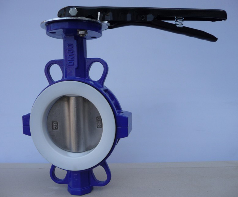 ANSI CL150/DIN/BS/JIS 10K Wafer type Butterfly valve