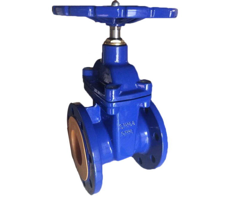 BS PN10/PN16 Cast iron/ Ductile iron non-rising stem hard seal gate valve
