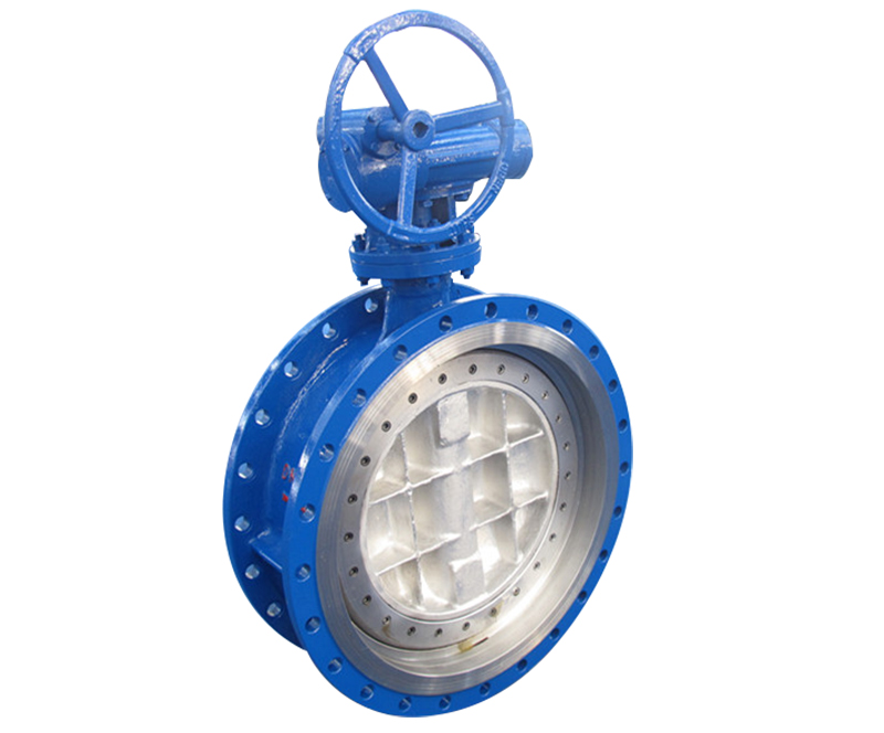 ANSI CL150/300 Tri- eccentric Flange type hard seal Butterfly valve